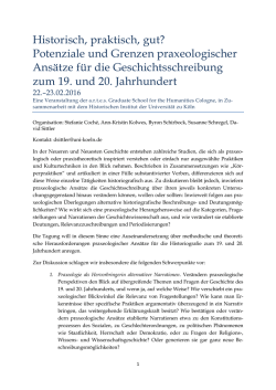 Call for Papers - artes Graduate School for the Humanities Cologne