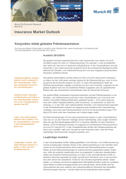 Insurance Market Outlook 2015