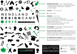 DOWNLOAD » Flyer Wendland Design Camp 2015