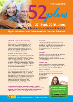 52 flyer - Osttirol Messe