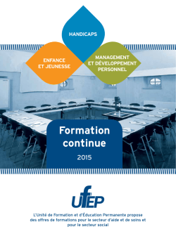 cofinancement de la formation continue