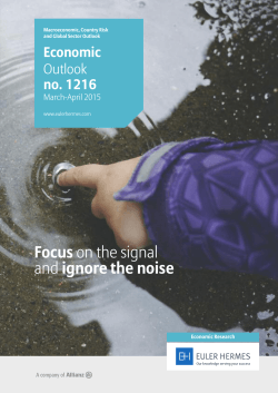 Focus on the signal and ignore the noise