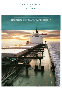 hamburg: maritime services group