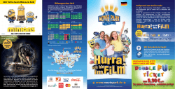 Newsflyer 2015 - Movie Park Germany