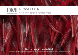NEWSLETTER - Deutsches Mode