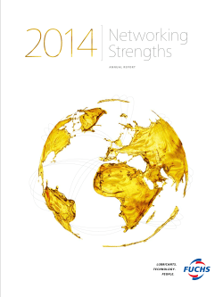Annual Report 2014 as PDF