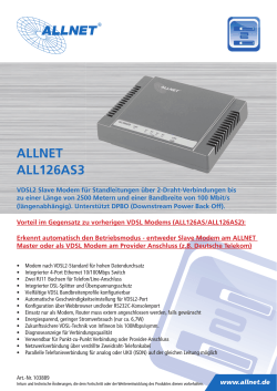 ALLNET ALL126AS3