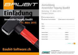 Baubit-Software.ch