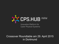 Vortrag Fachgruppe Cyber Physical Security