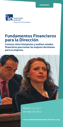 IE Fundamentos Financieros