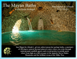 to printable Mayan Baths brochure.