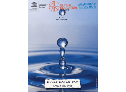 WORLD WATER DAY - Global Education Magazine