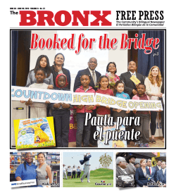 Literary Pages - The Bronx Free Press