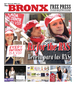 Receta para las RNS - The Bronx Free Press