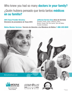 STAR+PLUS - Molina Healthcare
