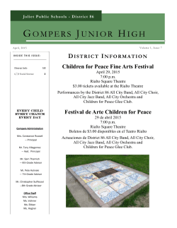 GOMPERS JUNIOR HIGH - Joliet Public Schools District 86