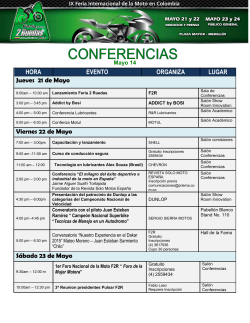 Programación Conferencias
