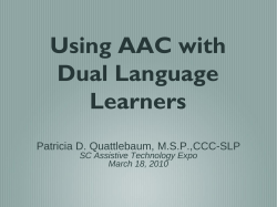 Dual Language Development: Recognizing Normal and