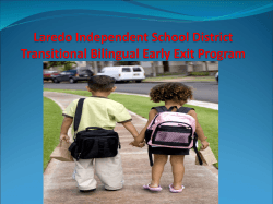 Laredo Independent School District Transitional