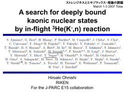 A search for deeply bound kaonic nuclear states by