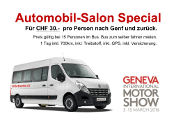 Automobil-Salon Special