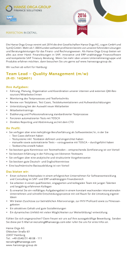 Team Lead – Quality Management