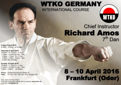 10 April 2016 in Frankfurt