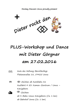 Plus Workshop & Dance - Donkey Dancers Unna