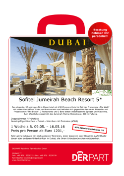 Sofitel Jumeirah Beach Resort 5