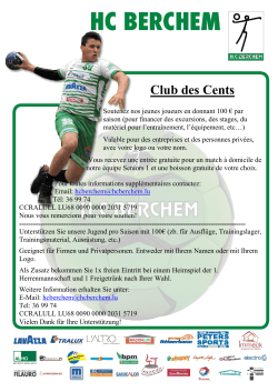 Club des Cents